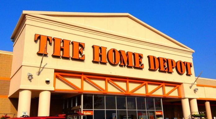 A Typical store where Home Depot hire felons